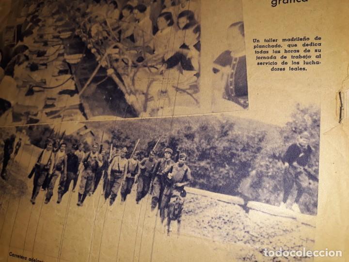 Coleccionismo de Revistas y Periódicos: PERIODICO ABC DIARIO REPUBLICANO IZQUIERDAS GUERRA CIVIL CRISTO FOTOS MILICIANOS TREN ENFERMERAS - Foto 4 - 155652298
