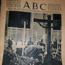 Coleccionismo de Revistas y Periódicos: PERIODICO ABC 1930 DIARIO CAPILLA ENTIERRO PRIMO RIVERA INFANTE ROSA AZAFRÁN ROSARIO PINO PUBLICIDAD. Lote 155656274