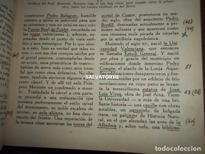Coleccionismo de Revistas y Periódicos: ENCICLOPEDIA GRAFICA.VALENCIA. EDITORIAL CERVANTES. - Foto 2 - 155658774