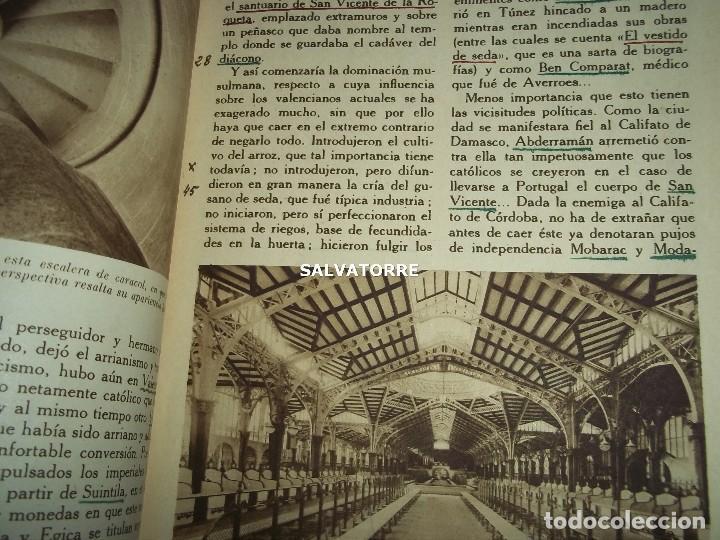 Coleccionismo de Revistas y Periódicos: ENCICLOPEDIA GRAFICA.VALENCIA. EDITORIAL CERVANTES. - Foto 3 - 155658774