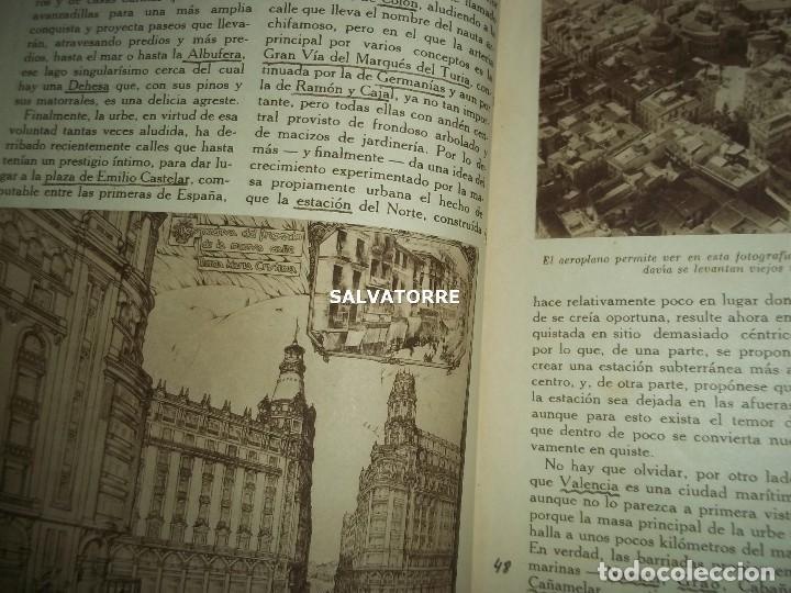 Coleccionismo de Revistas y Periódicos: ENCICLOPEDIA GRAFICA.VALENCIA. EDITORIAL CERVANTES. - Foto 4 - 155658774