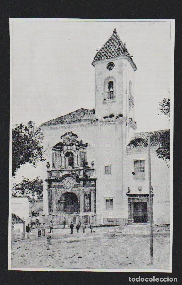 LUCENA ( CÓRDOBA ). FACHADA DE SAN JUAN DE DIOS ( HOSPITAL ). (Coleccionismo - Revistas y Periódicos Antiguos (hasta 1.939))