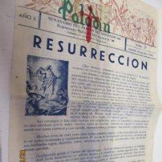 Coleccionismo de Revistas y Periódicos: PALADIN SEMANARIO DEL HOGAR DEL SOLDADO Nº 37 LOGROÑO 22-04-1946 REGIMIENTO MIXTO INF BAILEN 60. Lote 155702194