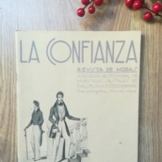Coleccionismo de Revistas y Periódicos: LA CONFIANZA. REVISTA DE MODAS. SEPTIEMBRE 1936. Lote 155705070