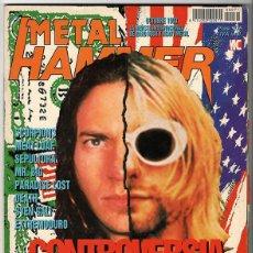 Coleccionismo de Revistas y Periódicos: METAL HAMMER Nº 71 - OCTUBRE 1993 - PEARL JAM, NIRVANA, SCORPIONS, IRON MAIDEN, SEPULTURA, DEATH. Lote 155708242