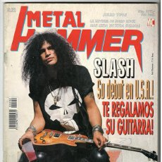 Coleccionismo de Revistas y Periódicos: METAL HAMMER Nº 92 - JULIO 1995 - SLASH, DOKKEN, FIGHT, DEICIDE, TROUBLE, BON JOVI, WILDHEARTS. Lote 155714738
