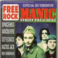Coleccionismo de Revistas y Periódicos: FREE ROCK Nº 48 - SEPTIEMBRE 1996 - MANIC STREET PREACHERS, SPACEHOG, SOUNDGARDEN, LOS FLECHAZOS,. Lote 155715070