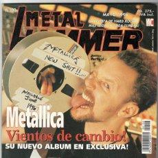 Coleccionismo de Revistas y Periódicos: METAL HAMMER Nº 102 - MAYO 1996 - METALLICA, SCORPIONS, BARRICADA, MARILLION, BRUCE DICKINSON. Lote 155715558