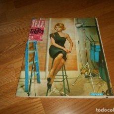 Coleccionismo de Revistas y Periódicos: TELERADIO. REVISTA TELE RADIO Nº311 9 12 1963 MARISOL. Lote 155819582
