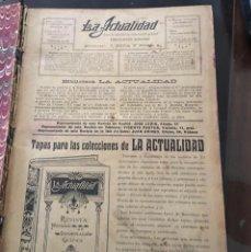 Coleccionismo de Revistas y Periódicos: REVISTA LA ACTUALIDAD. Lote 155909946