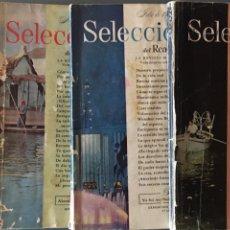 Coleccionismo de Revistas y Periódicos: SELECCIONES DEL READER'S DIGEST 1957-1958-1959. Lote 156028828
