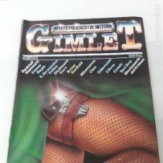 Coleccionismo de Revistas y Periódicos: GIMLET - REVISTA POLICÍACA Y DE MISTERIO - MAYO Nº 3 - EDICIONES GRAFFITI - AÑOS 80. Lote 156028986