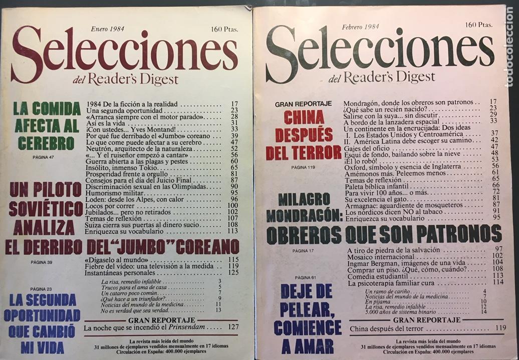 SELECCIONES DEL READER'S DIGEST 1984 (Coleccionismo - Revistas y Periódicos Modernos (a partir de 1.940) - Otros)