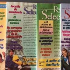 Coleccionismo de Revistas y Periódicos: SELECCIONES DEL READER'S DIGEST 1995-1996. Lote 156029810