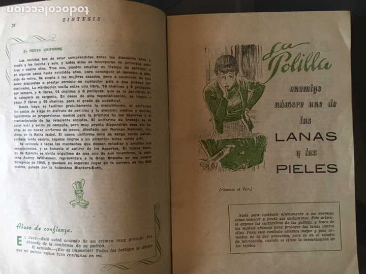 Coleccionismo de Revistas y Periódicos: REVISTA SÍNTESIS CRISOL DE LA PRENSA UNIVERSAL, Febrero 1951 - Foto 3 - 156033762