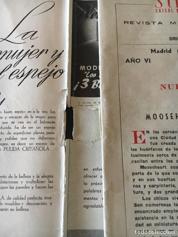Coleccionismo de Revistas y Periódicos: REVISTA SÍNTESIS CRISOL DE LA PRENSA UNIVERSAL, Febrero 1951 - Foto 5 - 156033762