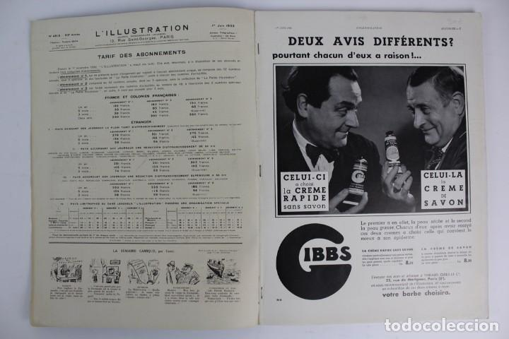 Coleccionismo de Revistas y Periódicos: L-5298 REVISTA .L'ILLUSTRACTION .LE PAQUEBOT NORMANDIE .1 DE JUNIO DEL AÑO 1935. - Foto 2 - 156163874