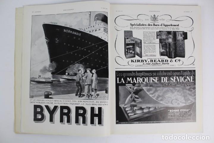 Coleccionismo de Revistas y Periódicos: L-5298 REVISTA .L'ILLUSTRACTION .LE PAQUEBOT NORMANDIE .1 DE JUNIO DEL AÑO 1935. - Foto 3 - 156163874