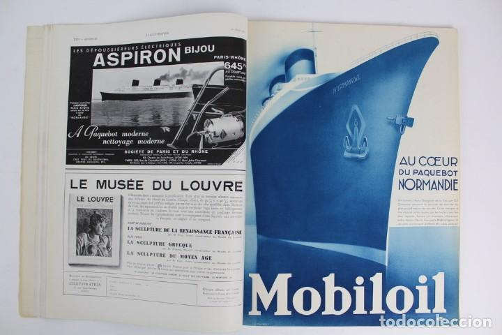 Coleccionismo de Revistas y Periódicos: L-5298 REVISTA .L'ILLUSTRACTION .LE PAQUEBOT NORMANDIE .1 DE JUNIO DEL AÑO 1935. - Foto 4 - 156163874