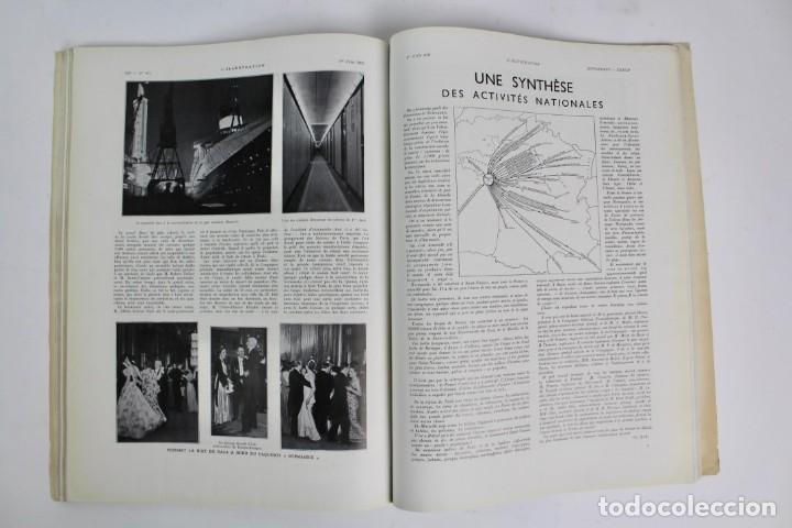 Coleccionismo de Revistas y Periódicos: L-5298 REVISTA .L'ILLUSTRACTION .LE PAQUEBOT NORMANDIE .1 DE JUNIO DEL AÑO 1935. - Foto 7 - 156163874