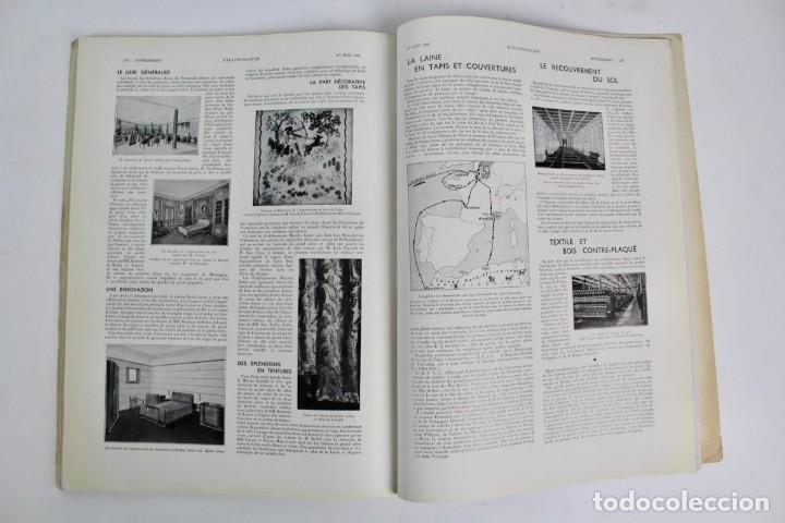 Coleccionismo de Revistas y Periódicos: L-5298 REVISTA .L'ILLUSTRACTION .LE PAQUEBOT NORMANDIE .1 DE JUNIO DEL AÑO 1935. - Foto 8 - 156163874
