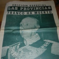 Coleccionismo de Revistas y Periódicos: ANTIGUO PERIODICO VALENCIANO LAS PROVINCIAS. Lote 156222196