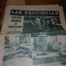 Coleccionismo de Revistas y Periódicos: ANTIGUO PERIODICO VALENCIANO LAS PROVINCIAS. Lote 156224424