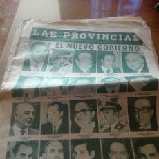 Coleccionismo de Revistas y Periódicos: ANTIGUO PERIODICO VALENCIANO LAS PROVINCIAS. Lote 156225944