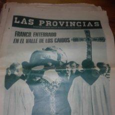 Coleccionismo de Revistas y Periódicos: ANTIGUO PERIODICO VALENCIANO LAS PROVINCIAS. Lote 156229318