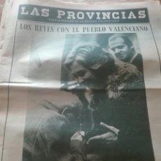 Coleccionismo de Revistas y Periódicos: ANTIGUO PERIODICO VALENCIANO LAS PROVINCIAS. Lote 156230498