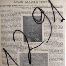 Coleccionismo de Revistas y Periódicos: MOSAICOS. 1904 . Lote 156516046