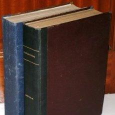 Coleccionismo de Revistas y Periódicos: LOTE 2 TOMOS ENCUADERNADOS DE REVISTA MENSUAL CATOLICISMO / MISIONES MADRID AÑOS 1942 A 1947. Lote 156519102