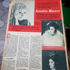 Coleccionismo de Revistas y Periódicos: ANTOÑITA MORENO REVISTA DIGAME AÑO 1967. Lote 156536234