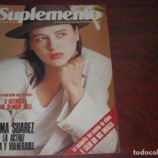 Coleccionismo de Revistas y Periódicos: REVISTA SUPLEMENTO SEMANAL 1990 Nº 133- EMMA SUAREZ - SIMONE VEIL -VER SUMARIO. Lote 156560930