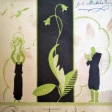 Collezionismo di Riviste e Giornali: REVISTA DE JUVENTUD 1930 GARCIA FIGLGAR JOSE ENRIQUE GIPPINI ALTARIMA. Lote 156605534