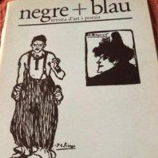 Coleccionismo de Revistas y Periódicos: NEGRE+ BLAU. Lote 156626194