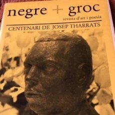 Coleccionismo de Revistas y Periódicos: NEGRE+ GROS JOSEP THARRATS 1986. Lote 156628614