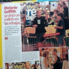 Coleccionismo de Revistas y Periódicos: MELANIE GRIFFITH . Lote 156632418
