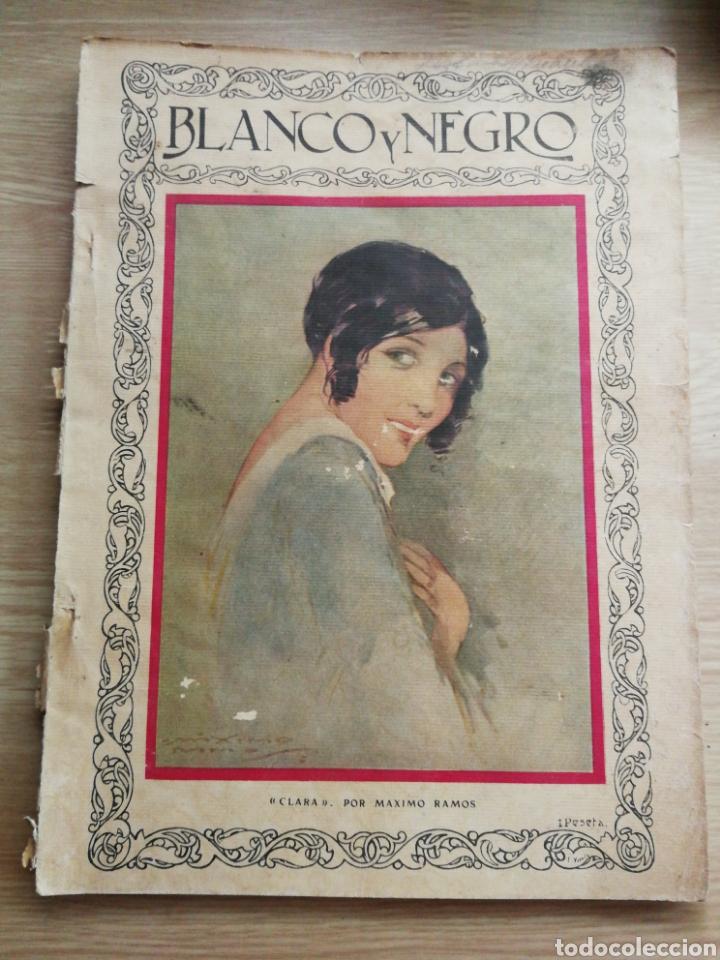 REVISTA BLANCO Y NEGRO AÑO 1928.USADA. (Coleccionismo - Revistas y Periódicos Antiguos (hasta 1.939))