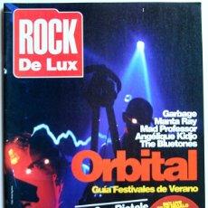 Coleccionismo de Revistas y Periódicos: ROCK DE LUX Nº 132 + CD - JULIO/AGOSTO 1996 - ORBITAL, GARBAGE, MANTA RAY, MAD PROFESSOR, BLUETONES. Lote 156657798