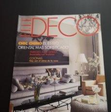 Coleccionismo de Revistas y Periódicos: REVISTA ELLE DECO DECOR DE DECORACIÓN AÑO 2001, NÚMERO 73. Lote 156659046
