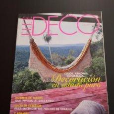 Coleccionismo de Revistas y Periódicos: REVISTA ELLE DECO DECOR DE DECORACIÓN AÑO 2005, NÚMERO 92. Lote 156659126