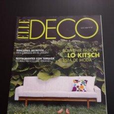 Coleccionismo de Revistas y Periódicos: REVISTA ELLE DECO DECOR DE DECORACIÓN AÑO 2004, NÚMERO 87. Lote 156659150