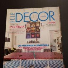 Coleccionismo de Revistas y Periódicos: REVISTA ELLE DECO DECOR DE DECORACIÓN AÑO 2010, NÚMERO 118. Lote 156659206