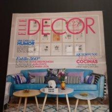 Coleccionismo de Revistas y Periódicos: REVISTA ELLE DECO DECOR DE DECORACIÓN AÑO 2014, NÚMERO 138. Lote 156659238