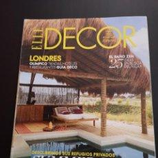 Coleccionismo de Revistas y Periódicos: REVISTA ELLE DECO DECOR DE DECORACIÓN AÑO 2012, NÚMERO 127. Lote 156659322