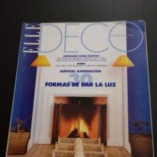 Coleccionismo de Revistas y Periódicos: REVISTA ELLE DECO DECOR DE DECORACIÓN AÑO 1996 NÚMERO 49. Lote 156659362