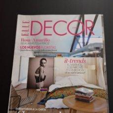 Coleccionismo de Revistas y Periódicos: REVISTA ELLE DECO DECOR DE DECORACIÓN AÑO 2015 NÚMERO 140. Lote 156659406