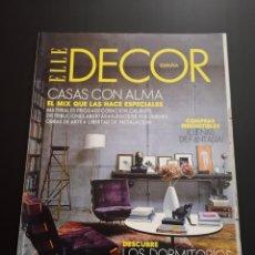 Coleccionismo de Revistas y Periódicos: REVISTA ELLE DECO DECOR DE DECORACIÓN AÑO 2011 NÚMERO 120. Lote 156659454