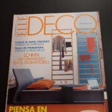 Coleccionismo de Revistas y Periódicos: REVISTA ELLE DECO DECOR DE DECORACIÓN AÑO 2004 NÚMERO 86. Lote 156659506